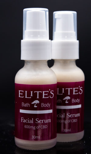 CBD Infused Facial Serum with 600mg of CBD and hyaluronic acid